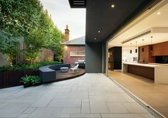 nathan burkett landscape architect / residential garden, malvern melbourne