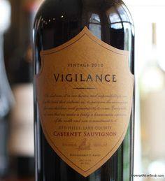 Vigilance Cabernet Sauvignon 2010 - Very Easy To Drink. Vigilantly protecting your wine drinking pleasure. http://www.reversewinesnob.com/2013/08/vigilance-cabernet-sauvignon.html #wine