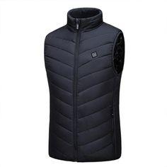 (Last day promotion-50% OFF) Unisex Warming Heated Vest – iGo Store Shark Slippers, Heated Jacket, Long Sweaters For Women, Duck Down Jacket, Long Sweater Dress, Circulation Sanguine, Body Warmer, Neck Warmer, Costume