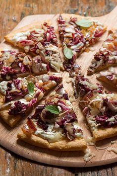 Balsamic & Honey Radicchio Pizza (gluten free)