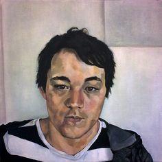 Michelle paints Danny…Euan Uglow like | David Reid