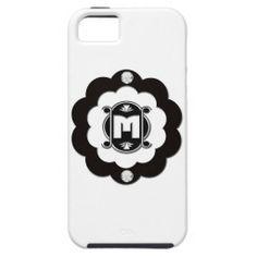 Monogram Bling M iPhone 5/5S Case