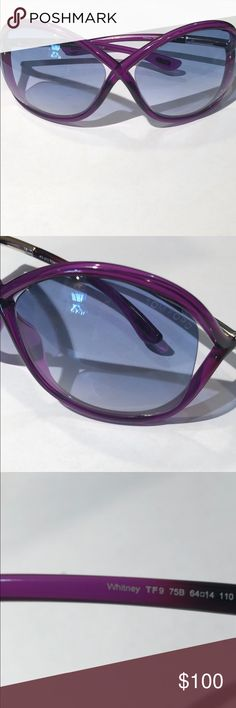 1ef498f9fda Tom Ford Whitney Sunglasses Purple Tom Ford style Whitney Tom Ford  Accessories Sunglasses Tom Ford Whitney