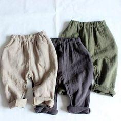 Dakota Linen Trousers – Rock Dove Baby Linen Trousers, Easy Wear, Elastic Waist, Looks Great, Casual Shorts, Dress Up, Rock, Children, Fitness