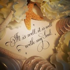 Calligraphy and Photo by Kathy Milici