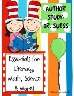 Dr Seuss Author Study: Curriculum Essentials for Math, Literacy, Science