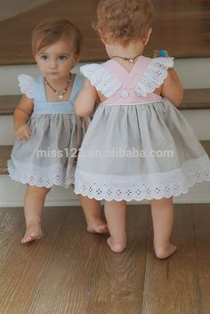 Good quality baby girls pinafore princess dress eyelet linen cotton baggy pretty dress for children - Baby Girl Dress - Ideas of Baby Girl Dress Little Dresses, Little Girl Dresses, Baby Dresses, Easy Girls Dress, Peasant Dresses, Girls Dresses, Dress Girl, Dresses Dresses, Dance Dresses