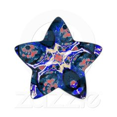 Decorative Retro Sticker from Zazzle.com    decorative , blue , nature , retro , red , symmetric , female , flower , digital , elegant , decoration , women , teens , flowers , natural