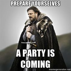 Send Awesome GoT Evites is listed (or ranked) 2 on the list Epic Ideas for Your Next Game of Thrones Party