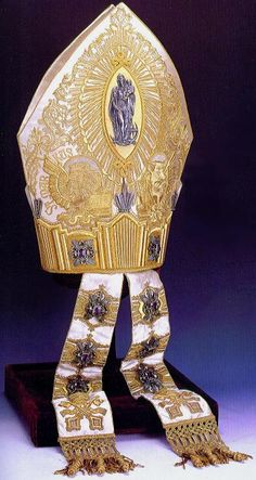 Holy See - Papal Vestments - Pope's Mitre