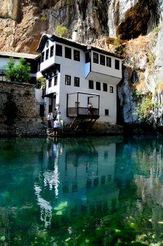 Bosnia And Herzegovina - Blagaj - Dervish Monastery by T E R R A , via 500px