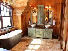 Hoy les hemos preparado cuarenta y nueve fabulosos diseños de muebles de baño modernos de estilo rústico, no se pierdan este recorrido.