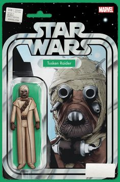 Star Wars #8 Action Figure Variant Cover by John Tyler Christopher