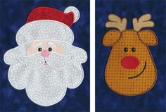 Applique and thread-only designs