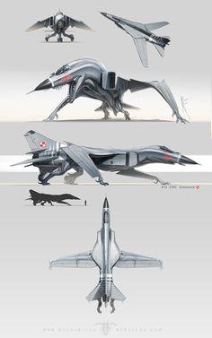Американская художница-дизайнер превращает самолеты и танки в «доисторических монстров». На ее графическом планшете Су-34 становится фантастическим птероящером, а Т-34 — хищным динозавром.