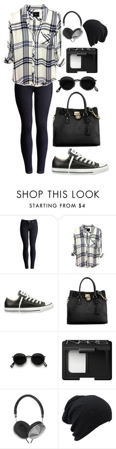 """A Touch of Blue"" by heyitsbetsey ❤ liked on Polyvore featuring Joules, Rails, Converse, Michael Kors, Acne Studios, NARS Cosmetics, women's clothing, women, female and woman"