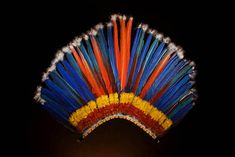 This is an example of a headpiece that Theseus, or any other tribal leader/significant member, would wear.