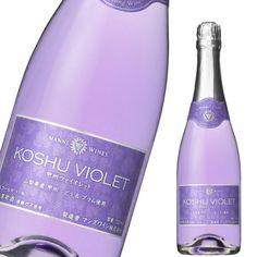 720 мл Koshu фиолетового игристого вина фиолетовый Рождество 02P13Dec13