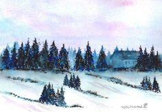 January at Christmas Cabin