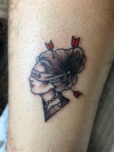 Friday the 13th flash by Alivia, Artful Dodger Tattoo & Comics, Seattle Washington. [I love her work!]