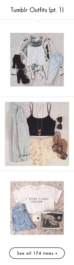 """""""Tumblr Outfits (pt. 1)"""" by bubbles-a ❤ liked on Polyvore"""
