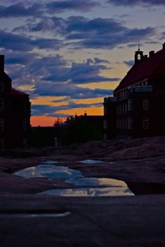 Helsinki summer night after the rain. Photo by Jouni Jyllinmaa.