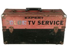 TV service repairman came to your house to fix the TV