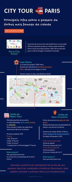 Paris City Vision: ônibus turismo (city tour) por Paris