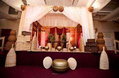 Nigerian wedding traditional engagement wedding stage