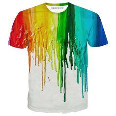 Rainbow Drips T-Shirt