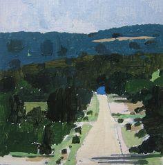 Harry Stoofshinoff, landscape painter