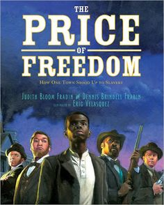 The Price of Freedom is a true story and another of those picture books for older readers that bring aspects of American history to life in such an effective way. Review by Randomly Reading.