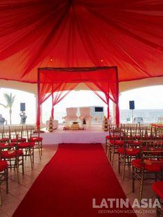 #indiandestinationwedding #decor #cancun #rivieramaya by @weddingcancun