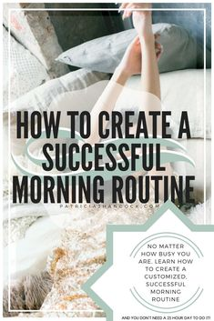 In this guide, learn what makes a successful morning routine, and how you can add it to any schedule. No matter how hectic and busy you are! These easy steps can get you started on the morning routine that is best for you and your lifestyle. Healthy Morning Routine, Morning Habits, Morning Routines, Daily Routines, Healthy Routines, Skin Care Routine For 20s, Self Care Routine, Skin Routine, Skincare Routine