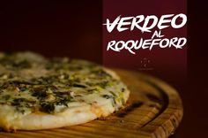 Pizza de verdeo al roquefort
