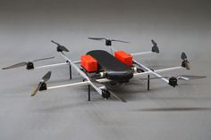 Supercam X8M multirotor UAV