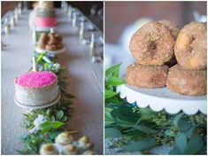 Sugar Glam bridal shower #sparkle #donuts #cupcakes