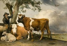 "Paulus Potter,  ""The Bull"", 1647"