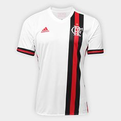 976c34f0b2584 Camisa do Flamengo II 17 18 S Nº Torcedor Adidas Masculina - Comprar Camisa