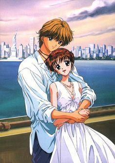 Yuu and Miki~New York Sunset