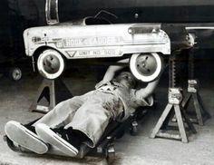 Young auto tech