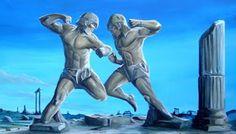 Το Παγκράτιο άθλημα είναι το αρχαιότερο στον κόσμο άθλημα πολεμικών και μαχητικών τεχνών, η αρχή του χάνεται στα βάθη της Ελληνικής φυλής......