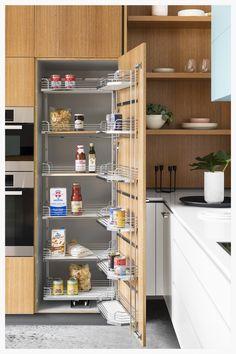 How to: Create a timeless yet unique kitchen - The Interiors Addict Kitchen Room Design, Modern Kitchen Cabinets, Home Decor Kitchen, Kitchen Furniture, Kitchen Interior, New Kitchen, Furniture Stores, Cheap Furniture, Kitchen Cupboard