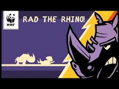It's about the most Rad-ical rhino to run across your screen - ever! And he's on a mission for good - to save the rhinos of Southern Africa. Game, Videos, Youtube, Movie Posters, Venison, Film Poster, Popcorn Posters, Gaming, Film Posters