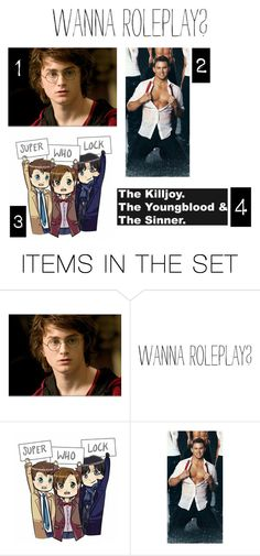 """Which one!!!!"" by killjoy-717 ❤ liked on Polyvore featuring art"