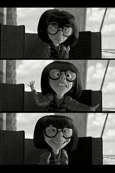 Edna Mode. Best character in that movie, no doubt about it.