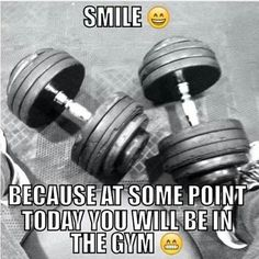 A great reason to smile! #Gym #Fitness