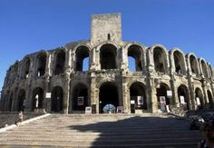 The Coloseum in Nimes, France ... more intact than the one in Rome ...
