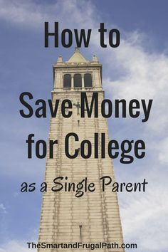 Single parent? Me too, but that's not stopping me from saving for my kids' college. Here's how you can help your kids avoid student loans.