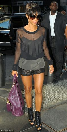 Jada Pinkett Smith in leather hotpants and sexy heels | Global Grind